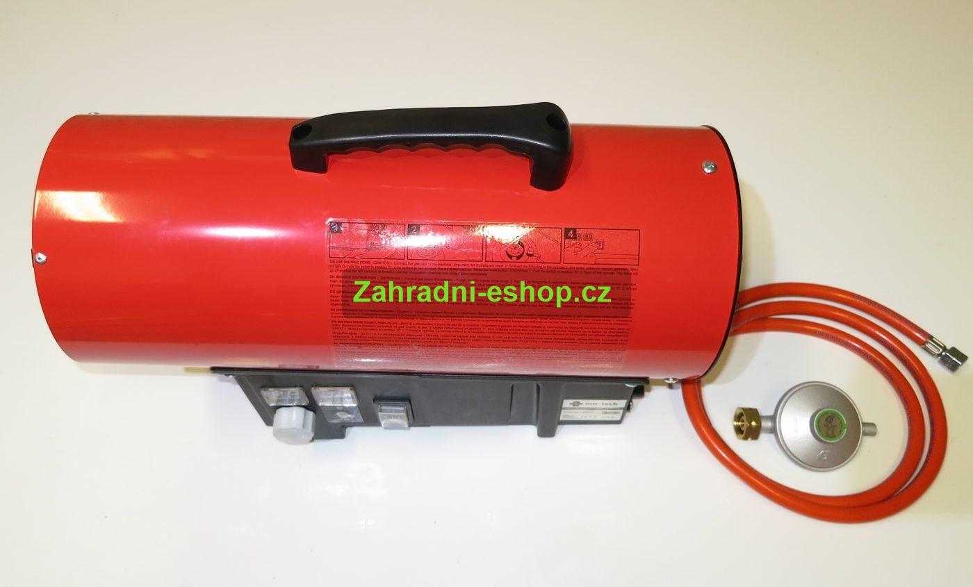 Plynový ohřívač vzduchu